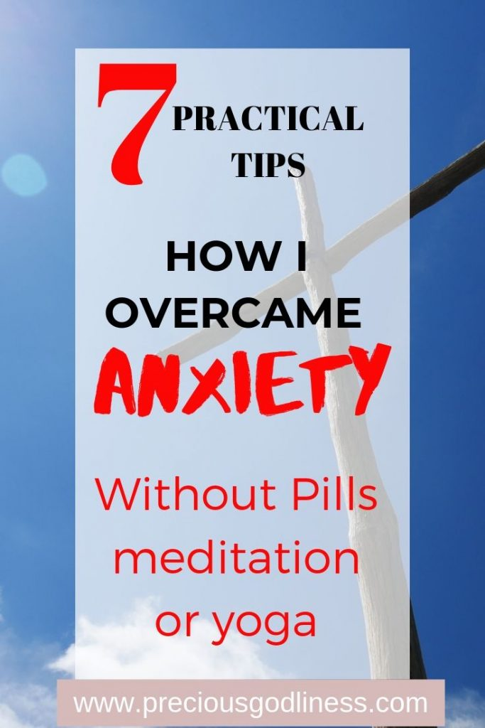 How I overcame anxiety.
