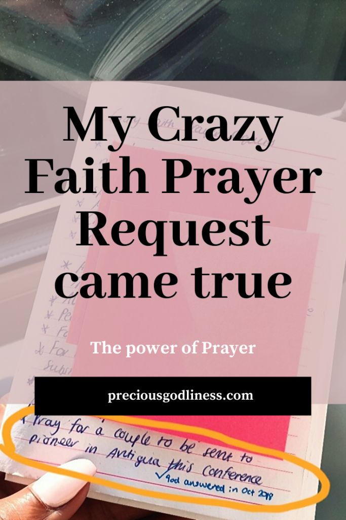 my crazy faith