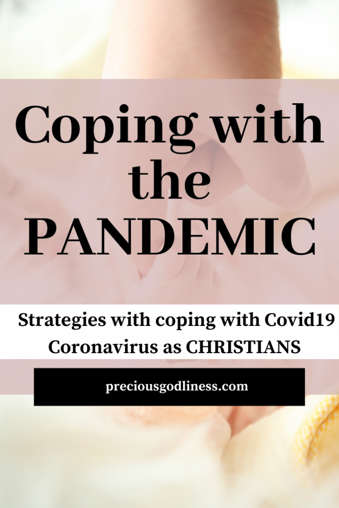 Christian coping strategies for coronavirus
